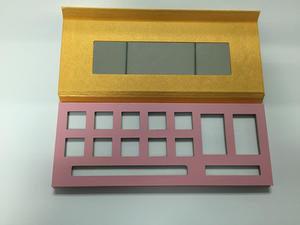 Paper make up palette/compact for eye shadow
