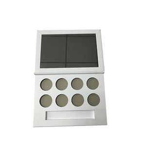 China Paper makeup palette for eye shadow with mirror supplier