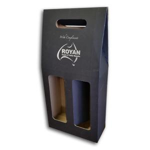paperboard wine packaging & carrier, wine holder