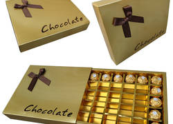 2 Pcs Set up Chocolate Box