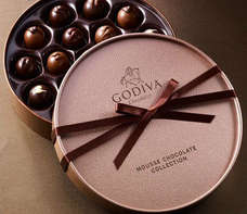 Luxury Round Chocolate gift boxes