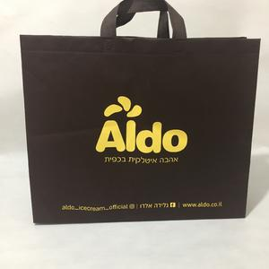 silkscreen printing non woven bag with 1-8 color artwork printed