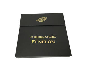 36 Pcs Load Chocolate Box Hand Made Luxury Chocolate Box Rigid Chocolate Box Chocolate Gift Box With Paper Divider