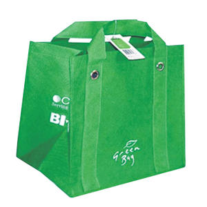 green non-woven bag for shopping purpose supplier