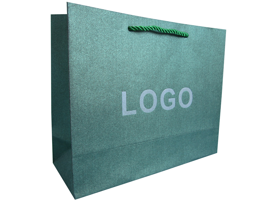 special grained art paper bag