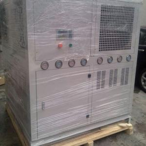 25HP air to water cooled industrial chiller for Coating compound machine