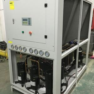 58KW-68KW cooling capacity air cooled chiller with 4 Dakin brand scroll compressors
