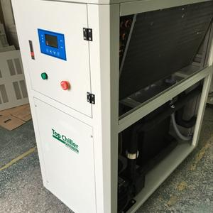 28KW industrial air chiller unit for spindle cooling in CNC machine