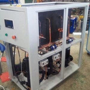 Copeland scroll compressor portable water chiller unit with water reservioir