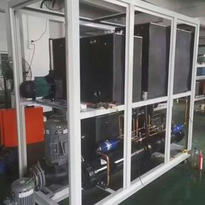 China Topchiller brand high COP/EER refrigeration chiller for packaging industry