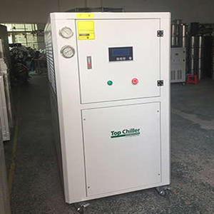 25HP air to water cooled industrial chiller system for injection moulding machines