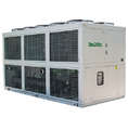 Egypt used 320KW cooling capacity packaged type air cooled water chiller