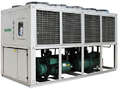 120HP-180HP air cooled water chiller with Hanbell screw compressor for milk cooling process