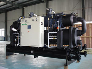 water cooled screw water chiller factory supplier with good price