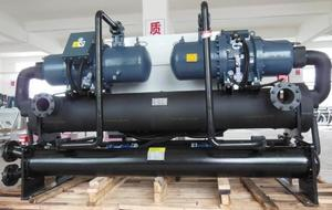 550kw water cooled water screw type chiller used in Die casting machines in Dubai