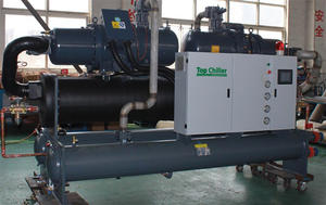 280Ton screw type inudstrial water chiller in printing processing