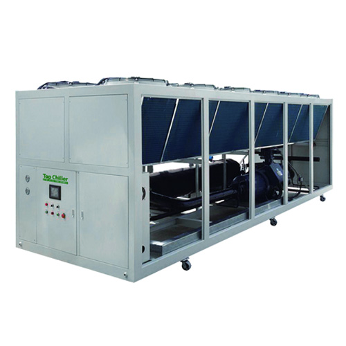 air cooled glycol screw type chiller