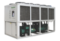 105kw Low Temperature Glycol Type Air Cooled Screw Compressor Water Chiller