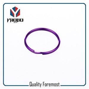 Purple Split Ring