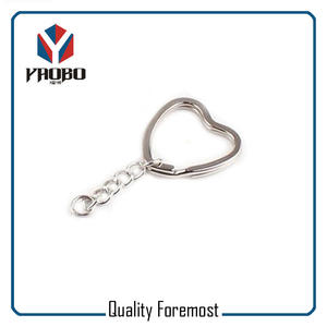 Split Ring With Keychain For Ornament