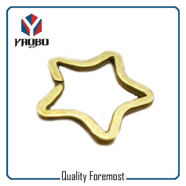 Star Shape Key Ring