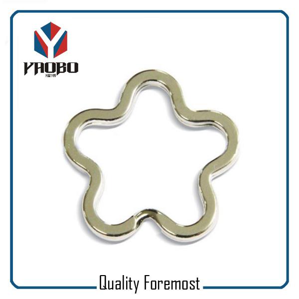 Flower Shape Key Ring