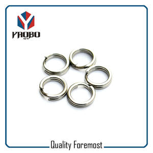 Fishing split ring,stainless steel heavy duty Split Ring