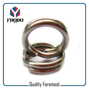 Stainless Steel Fishing Ring,fishing split ring