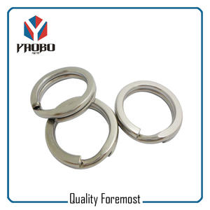 Stainless Steel Fishing Ring,Solid fishing split ring