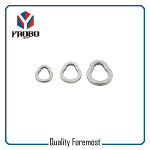 Stainless steel Pear Shape Fishing Ring,7.5mm pear ring