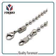 Stainless Steel Ball Chain With Lobster