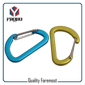 80mm Aluminum Carabiner,80mm carabiner for key