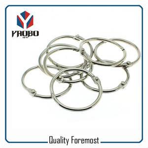 Silver Binder ring,metal binder ring,15mm binder ring