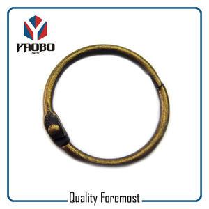 Metal Binder Ring,Antique Brass Binder Ring for book