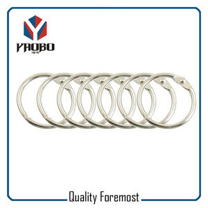 Metal Binder Ring,nickel binder ring,Binder Ring Stock
