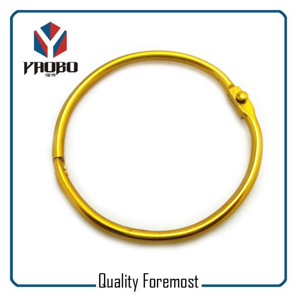 Yellow Binder Ring