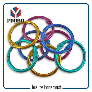 coloreful Binder Rings,colored binder ring O ring