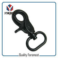 Black Snap Hook