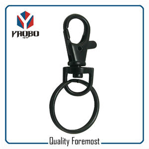 Snap Hook With Key Ring,snap hook for split ring