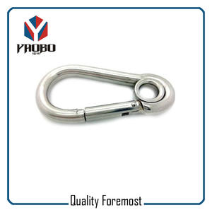 strong Stainless Steel Snap Hook,160mm steel snap hook