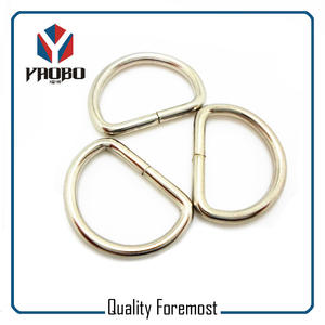 Metall D Ring, Eisen D Ring, Silber D Ring, Nickel D Ring