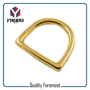 Brass D Ring