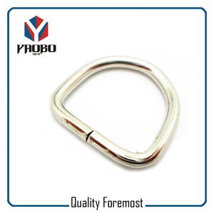 Metal 25mm Inner Size D Ring​,Iron 25mm D ring