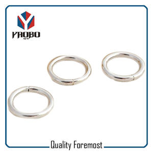 Silver O Ring,nickle round ring,iron o ring round ring