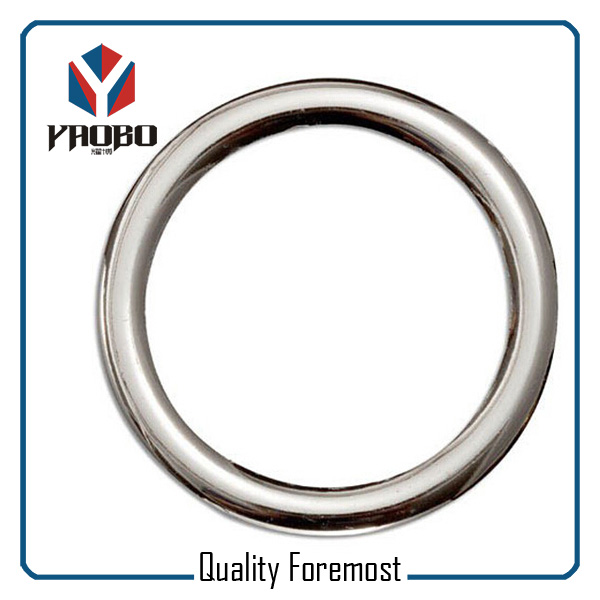 Polished Round Ring O Ring