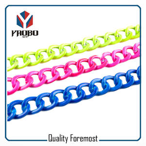 Colorful Aluminum Chain