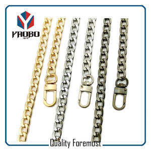 curb chain,Gold curb chain,silver curb chain for purse