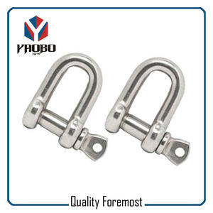 D Shackle,stainless steel shackle,shackle for bracelet