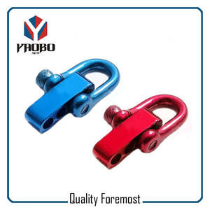 Colored D Shackle,stainless steel shackle,Shackle