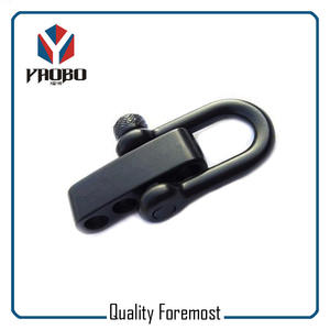 Black shackle,stainless steel balck shackle,D shackle